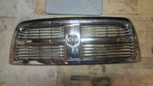 Chrome Grille from 2012 Dodge 3500
