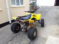 SUZUKI LTR 450 QUAD RACER. 2008. 12 Months MOT.