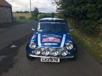 Rally Mini for Sale (next MOT due May 2018)