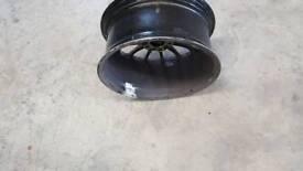 Alloy wheel crack repair