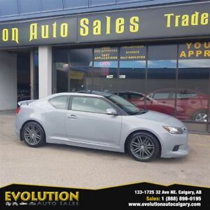 2011 Scion tC 53,463 KM 6 SPEED PANA ROOF FINANCING