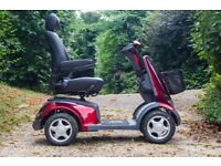 Drive Aviator 4-Wheeled Mobility Scooter –Red – Road Legal