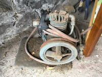 Old compressor pump