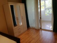 Two room unit, specious double bedroom including bills