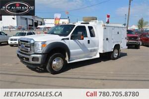 2012 Ford Super Duty F-450 XLT BODEN 9 FT Service body, VMAC Gas
