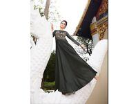 Aashi Wedding Wear Heavy Embroidery Gown