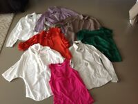 8 size 12 tops and shirts