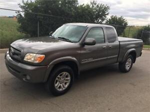 2005 Toyota Tundra Limited 4WD Quad Cap with Leather