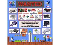Retro Games & Consoles Wanted