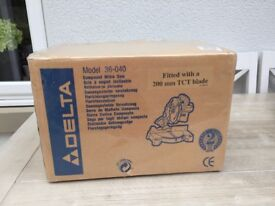 Delta Combination Mitre Saw (boxed & unused).