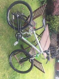 Full suspension mountain bike/jump bike