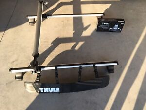 Thule Roof Racks with Bike (fork) Attachment and Airscreen