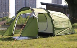 Camping Condo tent 1 bedroom 1 living tent for 3 to 4