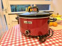 Used Crock-Pot Slow Cooker 3.5 L Red