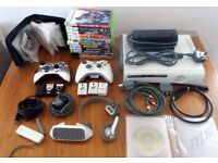 XBOX 360 Bundle - Final Fantasy Edition 250 GB Console with Controllers, Accessories & LOTS of Games