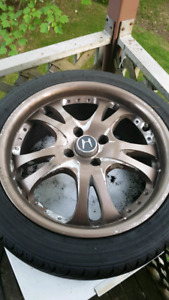 "16"" inch rims tires off Honda civic"