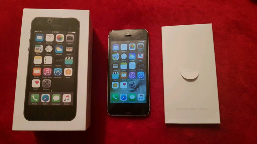 IPhone 5s boxed! Grade A condition! Cheapin Halifax, West YorkshireGumtree - iphone 5s in imacculate grade A condition, 16gb, on 02 network comes with box no accessories.£120 o.n.oCOLLECTION FROM HALIFAXPLEASE CALL OR TEXT ON 07521877008 OR 07947278785