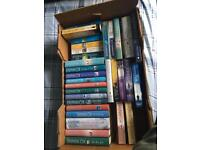 Full box of books