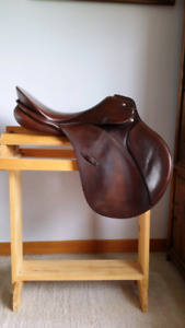 "Passier a/p saddle for sale 17"" seat"