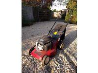Petrol mountfield lawnmower self drive. With Honda engine.