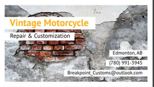 ***Motorcycle Repair and Customization***