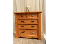 2 over 3 Pine Chest of Drawers
