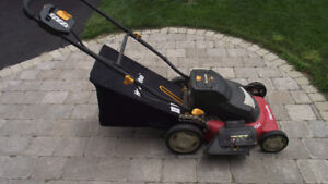 Homelite 20 inch Battery Operated Lawn Mower