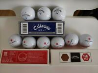9 brand new Callaway golf balls (still in box)