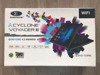 """9.7"""" Cyclone Voyager II Quad Core Tablet"""