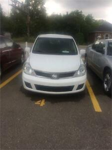 2012 Nissan Versa 1.8 S, automatic,  safety include in price
