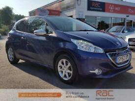 PEUGEOT 208 ALLURE E-HDI 2013 Diesel Automatic in Blue