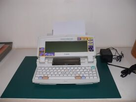 Canon Starwriter 550c Bubble Jet Word Processor