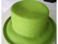 Hat - Hepburn Chic, Summer Green, Designer Simon Schutz