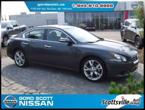 "2012 Nissan Maxima 3.5 SV Sport, 19"" Alloys, Leather, XM Tuner"