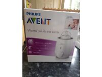 Baby philips Avent bottle warmer