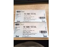 2x tickets for The Downs Festival Bristol Sat 2nd Sept - Elbow, Groove Armarda, Roni Size and more