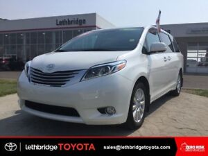 Toyota Certified 2017 Toyota Sienna XLE Limited AWD - EXT WTY!