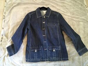 JEAN JACKET - ( NORTHERN REFLECTIONS) - NEW - (SIZE L)