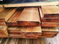8x2 (200mm x 50mm) Planed Timber 5.1mtr Lengths