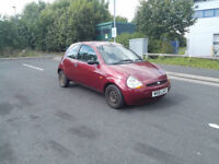 FORD KA 1.3 Petrol **MOT MARCH** Runs and drives but SPARES/REPAIRS