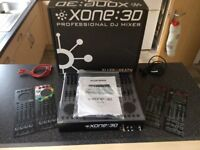 Allan £ Heath xone 3d professional dj mixer for sale.