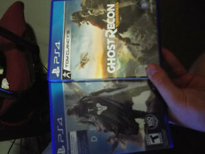 Destiny and ghost recon