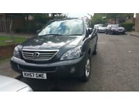 2007 (reg- 57) LEXUS RX 400H HYBRID GREY ELECTRIC 4WD