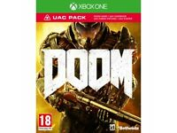 DOOM xbox one sealed game