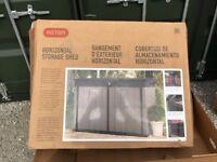 NEW Keter Grande-Store Storage Horizontal Shed Garden Storage Bin