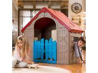 Norfolk Leisure WonderFold Foldable Playhouse - hardly used