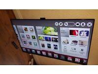 LG 55-inch Smart ULTRA 3D FHD LED TV-55LA970W,built in SOUNDBAR,CAMERA,Wifi,Freeview HD & FREESAT HD