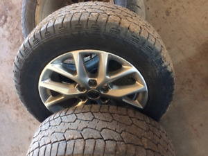 rims and tires off 2016 f150