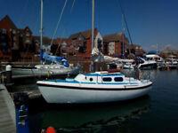 Westerly Cirrus 22 sailing boat
