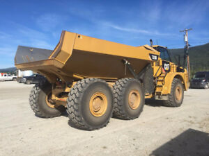 CATERPILLAR 735B ARTICULATING ROCK TRUCK